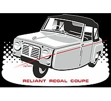 Reliant Regal Coupe (Mark 1) Photographic Print