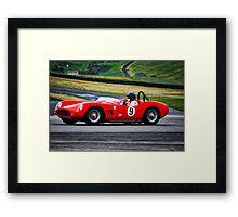 1958 Devin SS Vintage Racecar Framed Print