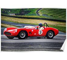 1958 Devin SS Vintage Racecar Poster