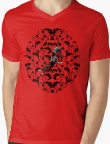 Arts & Crafts Bowdown Hound Mens V-Neck T-Shirt