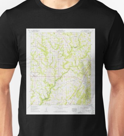USGS TOPO Map Alabama AL Holly Pond 304185 1958 24000 Unisex T-Shirt