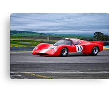 1970 Chevron B16 Can Am Racecar II Canvas Print