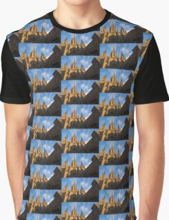 Barcelona's Marvelous Architecture - Cathedral of the Holy Cross and Saint Eulalia Graphic T-Shirt
