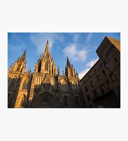 Barcelona's Marvelous Architecture - Cathedral of the Holy Cross and Saint Eulalia Photographic Print