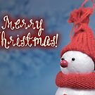 Merry Xmas - Snowman 02 by garigots