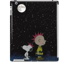 snoopy night sky iPad Case/Skin