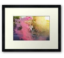 YOUNG WILD AND FREE Framed Print