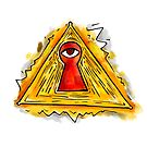 Pyramid eye by rafo