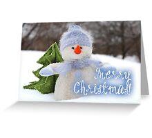 Merry Xmas - Snowman 09 Greeting Card