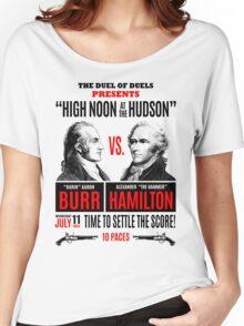 Burr vs Hamilton History Women's Relaxed Fit T-Shirt