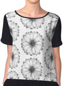DAISY I - Summer Floral Print Chiffon Top