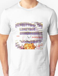 Testing the Limits --LIMITED EDITION-- --TRANSPARENT-- Unisex T-Shirt