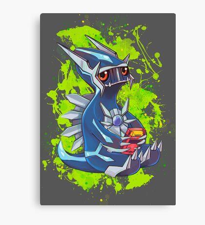 Gamer Dialga  Canvas Print