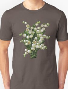 Lilies of the valley - acrylic painting Unisex T-Shirt
