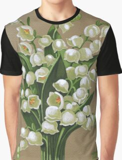 Lilies of the valley - acrylic painting Graphic T-Shirt