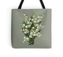 Lilies of the valley - acrylic painting Tote Bag