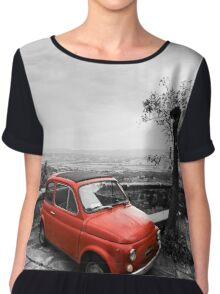 The Red Fiat Chiffon Top