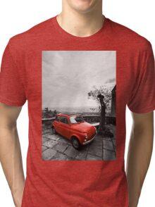 The Red Fiat Tri-blend T-Shirt