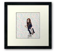 Jessica Jung  Framed Print