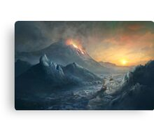 Erebus Mount Canvas Print