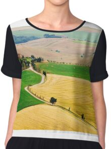 Tuscany summer Chiffon Top