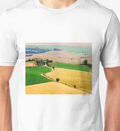 Tuscany summer Unisex T-Shirt