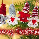 Merry Xmas - Felt & knitting 04 by garigots