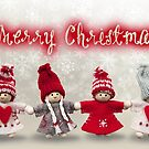 Merry Xmas - Felt & knitting 03 by garigots