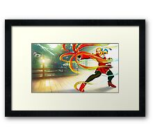 Street Fighter 5 Karin Framed Print