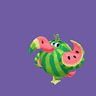 Water Melon Toucan by JordanMDalton