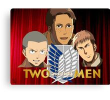 Two and a half scouts Canvas Print