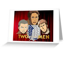 Two and a half scouts Greeting Card