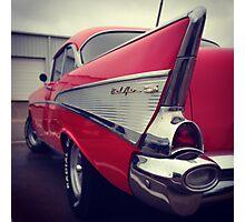 Classic Chevrolet Belaire Photographic Print