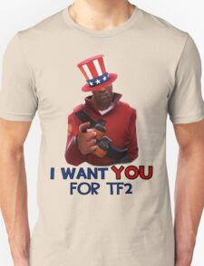 I want you for TF2! - Team Fortress 2 T-Shirt