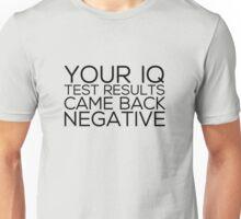 IQ Test Results T-Shirt