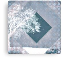 Monochrome Winter Canvas Print