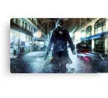 Aiden Pearce Watchdogs Canvas Print