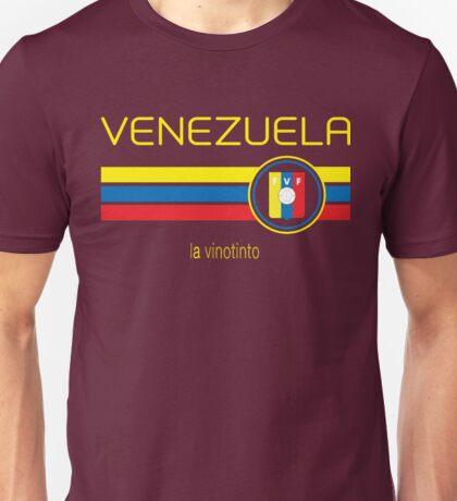 Copa America 2016 - Venezuela (Home Burgundy) Unisex T-Shirt