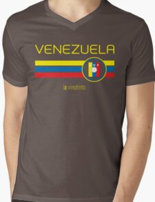 Copa America 2016 - Venezuela (Home Burgundy) Mens V-Neck T-Shirt