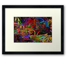"""Abstract Riot"" Framed Print"