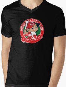 Hiroshima Toyo Carp Mens V-Neck T-Shirt