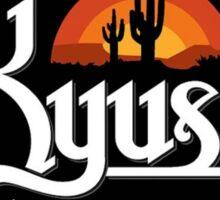 kyuss logo tour Sticker