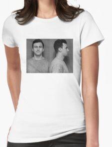 Manziel Mugshot Womens Fitted T-Shirt