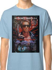 Vintage Japanese terminator movie poster Classic T-Shirt