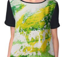 Seeing colour - Sharp green Chiffon Top
