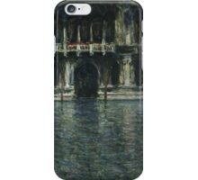 Claude Monet - Contarini Palace, Venice 1908 .Impressionism iPhone Case/Skin
