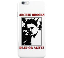 Archie Brooks: Dead or Alive? iPhone Case/Skin