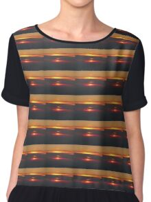 Sunset in the Dominican Republic Chiffon Top