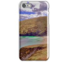 Magical Keem Beach Crowned by clouds from Heaven iPhone Case/Skin