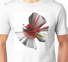 Consciousness of the Inanimate painting as a Spherical Depth Map. 2 Unisex T-Shirt